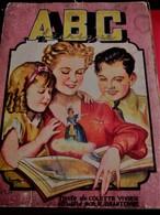 ABC Féerique De 1944 Livre Album éducatif Ancien En Français A- Ane- D-Diable-T -Toupie-Y -Youyou-Z-Zebre-Editions Nicéa - Livres, BD, Revues