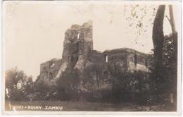 Lithuania Lietuva Litwa 1922 Trakai Troki Castle, Ruiny Zamku, Zamek - Litauen