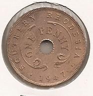 SOUTHERN RHODESIA RHODESIE PENNY 1947 DIFFICILLE 54 - Rhodesia