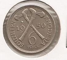 SOUTHERN RHODESIA RHODESIE PENCE  1950 DIFFICILLE 56 RARE ETAT UNC???? - Rhodesia
