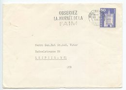 Switzerland 1964 Cover Biel / Bienne To Leipzig, East Germany - Switzerland