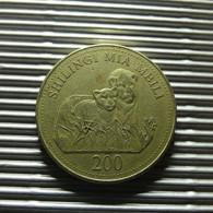 Zanzibar 200 Shilingi 1998 - Monedas