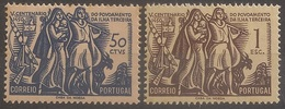 Portugal 1951 - Povoamento Da Ilha Terceira - Anniversary Of The Colonization Of Terceira - Set Complete - Mint / Neuf - Ongebruikt