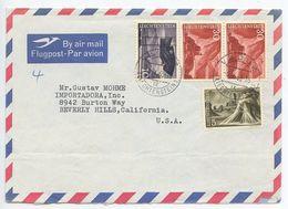 Liechtenstein 1963 Airmail Cover Vaduz - Miguel Contreras Torres To Beverly Hills CA - Liechtenstein