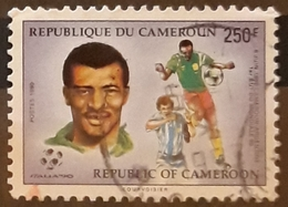 CAMERÚN 1990 Football World Cup - Italy. USADO - USED. - Camerún (1960-...)