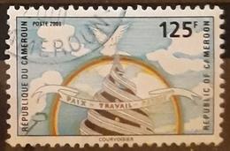 CAMERÚN 2000 National Symbols. USADO - USED. - Kameroen (1960-...)