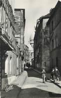 """/ CPSM FRANCE 75018 """"Paris, Le Vieux Montmartre, La Rue Saint Rustique"""" - District 18"""