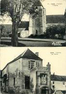 """/ CPSM FRANCE 89 """"Lévis, L'église"""" - Francia"""