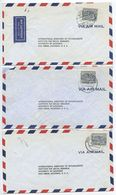 Germany, Berlin 1956 5 Airmail Covers To U.S., Scott 9N55 College, Mix Of Postmarks - Covers & Documents