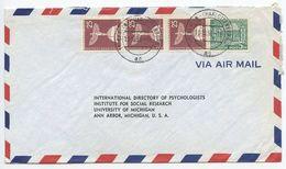 Germany, Berlin 1956 Airmail Cover To U.S., Scott 9N44 & 9N129 X 3 - [5] Berlin
