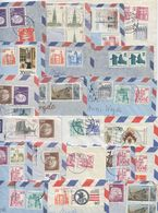 Germany, Berlin 1970's-80's 33 Airmail Covers To U.S., Mix Of Stamps - [5] Berlin
