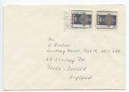 Germany, Berlin 1982 Cover To Poole-Dorset UK, Scott 9N464 Arts & Sciences Medal - [5] Berlin