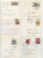 Germany, Berlin 1970's-80's 6 Domestic Covers, Mix Of Stamps & Postmarks - [5] Berlin