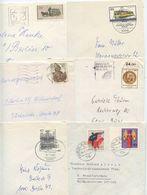 Germany, Berlin 1970's-80's 6 Domestic Covers, Mix Of Stamps & Postmarks - [5] Berlijn