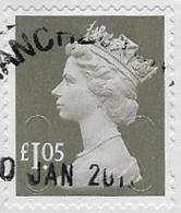 GB 2016 Machin £1.05 M16L MAIL Good/fine Used [31/27850/ND] - 1952-.... (Elisabetta II)