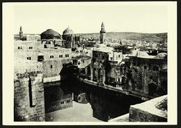 Jerusalem  -  Pool Of Hezekiah  -  Photogeph By J. McDonald 1865  -  Ansichtskarte Ca. 1965    (10542) - Israel