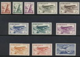 Cameroun 1946 Airmail MLH/FU - Cameroun (1915-1959)