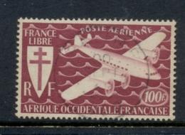 French West Africa 1945 Airpost 100f FU - Non Classificati