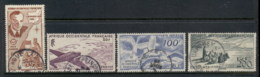 French West Africa 1947 Airmail Pictorials, Bird, Plane FU - Unclassified