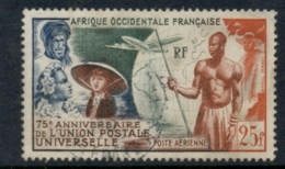 French West Africa 1949 UPU 75th Anniv. FU - Unclassified