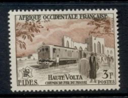 French West Africa 1956 FIDES 3f Nossi Railroad MUH - Unclassified