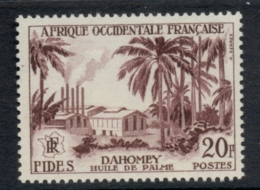 French West Africa 1956 FIDES 20f Palm Oil MUH - Unclassified