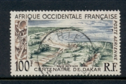 French West Africa 1958 Centenary Of Dakar 100f FU - Unclassified
