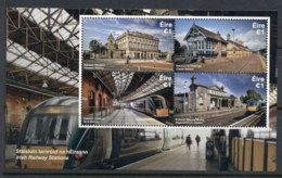 Ireland 2017 Irish Railway Stations MS MUH - Unused Stamps