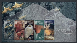 Ross Dependency 2016 Marine Life Creatures Of The Antarctic Sea Floor MS MUH - Nuovi