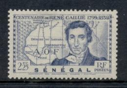 Senegal 1939 Caillie 2.25fr MLH - Senegal (1960-...)