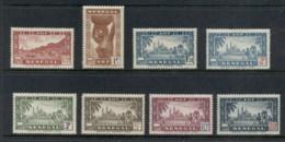 Senegal 1943-44 Pictorials Redrawn MLH - Senegal (1960-...)