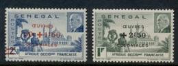 Senegal 1944 Petain Opt Colonial Development Fund MUH - Senegal (1960-...)