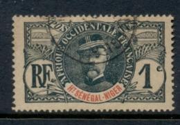 Upper Senegal & Niger 1906-07 Gen Louis Faidherbe 1c FU - Upper Senegal And Nigeria (1904-1921)