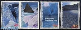 Australian Antarctic Territory 1996 Landscape Paintings 4v (2v+[:]), (Mint NH), Science - The Arctic & Antarctica - Australisch Antarctisch Territorium (AAT)