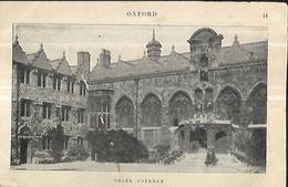 Oxford Oriel College - Oxford