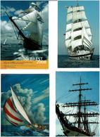 BATEAUX  /  Lot De 45 Cartes Postales Modernes écrites - Cartes Postales