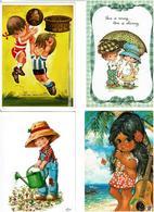 ENFANTS - Dessins /  Lot De 85 Cartes Postales Modernes écrites - Cartes Postales