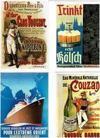 REPRODUCTIONS AFFICHES /  Lot De 72 Cartes Postales Modernes écrites - Cartes Postales