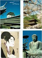 JAPON /  Lot De 60 Cartes Postales Modernes écrites - Cartes Postales