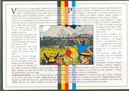 19/6 19/1 Belgique Belgie Emission Commune Avec Pays Bas Nederland 25 03 2000 Football Fdc  2 Scans - Zonder Classificatie
