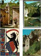 46 / LOT / Lot 750 C.P.M. écrites - Postcards