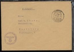 PAROW über STRALSUND C 9.10.39 + BfSt. Fliegerwaffenschule (See) Parow - Deutschland
