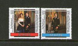 ST KITTS, 1986 ROYAL WEDDING 2 MNH - St.Christopher-Nevis-Anguilla (...-1980)