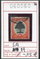 Südafrika - South Africa - Michel 89 - Oo Oblit. Used Gebruikt - - Südafrika (...-1961)
