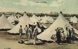 CAMP Du LARZAC  Tentes Colorisée  1RV A P Millau - La Cavalerie