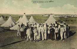 CAMP Du LARZAC  Aux Lettres  Colorisée  RV A P Millau - La Cavalerie