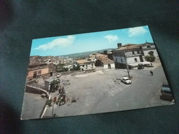 AUTO CAR  DISTRIBUTORE BENZINA PIAZZA GARIBALDI E PANORAMA PARZIALE BARILE POTENZA - Passenger Cars