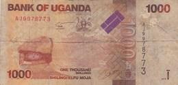 Ouganda - Billet De 1000 Shillings - 2010 - Ouganda