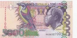 Sao Tomé & Principe - Billet De 5000 Dobras - Rei Amador - 26 Août 2004 - Neuf - San Tomé E Principe