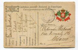 CPA Militaria : Franchigia Militare Guerra 14-18  A    VOIR  !!! - War 1914-18
